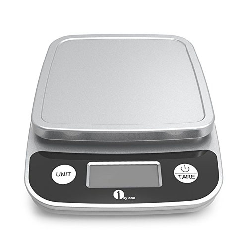 9. 1byone Digital Kitchen Scale Precise Cooking Scale and Baking Scale