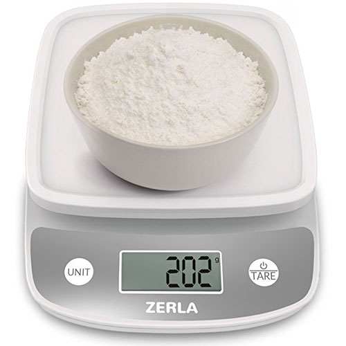 8. Digital Kitchen Scale by Zerla — Versatile Food Scale