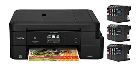 2. Brother MFC-J985DW XL Inkjet All-in-One Color Printer