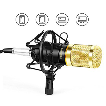 top best studio broadcasting recording condenser microphone reviews in 2019 reviews in best. Black Bedroom Furniture Sets. Home Design Ideas