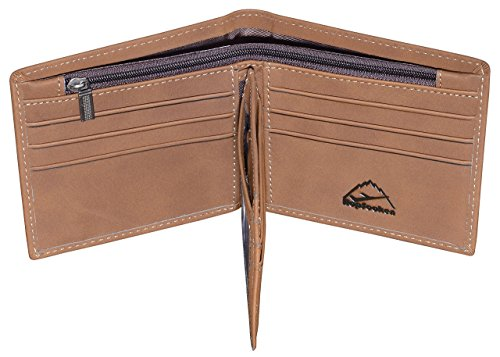 3. Hopsooken Mens Leather Bifold Wallet
