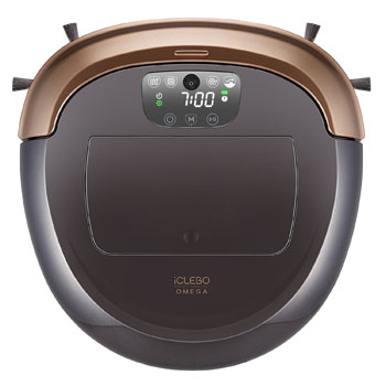 4. iClebo Omega Smart Vacuum Cleaner & Floor Mopping Robot