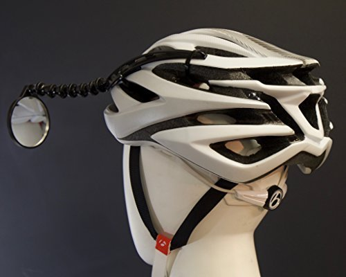 8. Safe Zone Bicycle Helmet Mirror by EVT