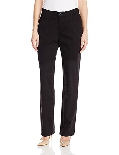9. LEE Women's Relaxed-Fit All Day Pant