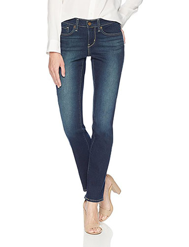 3. Signature by Levi Strauss & Co. Gold Label Women's Curvy Straight Jeans