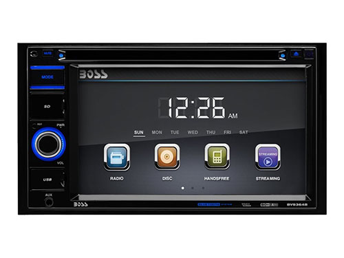 8. Car Stereo | BOSS Audio BV9364B Double Din
