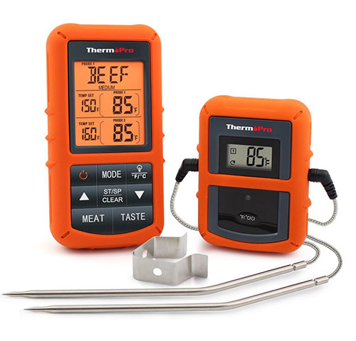 8. ThermoPro TP20 Wireless Remote Digital Cooking Food Meat Thermometer