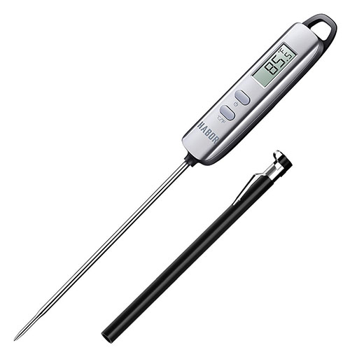 7. Meat Thermometer, Habor Instant Read Thermometer