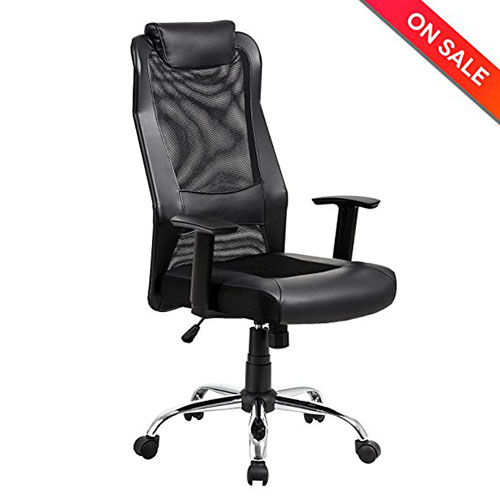 3. LCH High Back Mesh Office Chair -