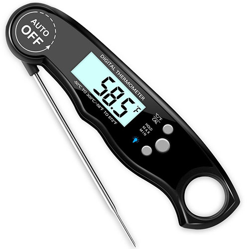 2. GDEALER Waterproof Meat Thermometer