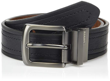 2. Levi's Men's Reversible Casual Jean Belt