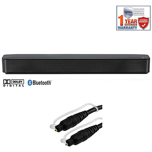 5. LG SK1 2.0-Channel Compact Sound Bar with Bluetooth