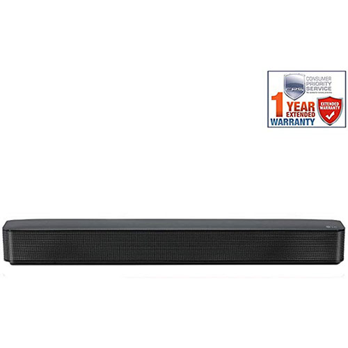 4. LG SK1 2.0-Channel Compact Sound Bar with Bluetooth