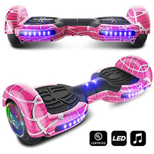 9. cho Spider Wheels Series Hoverboard UL2272 Certified Hover Board Electric Scooter