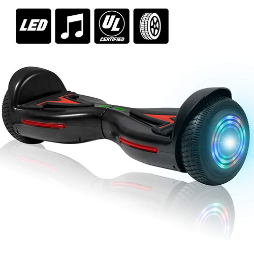 2. NHT Bluetooth Self Balancing Hoverboard Scooter with LED Lights