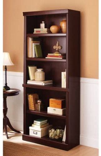 1. 5-SHELF MULTIPLE FINISHES BOOKCASE BY BETTER HOMES AND GARDENS